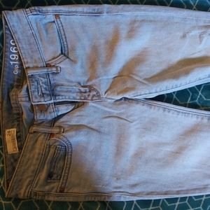 Gap size 24 distressed jeans